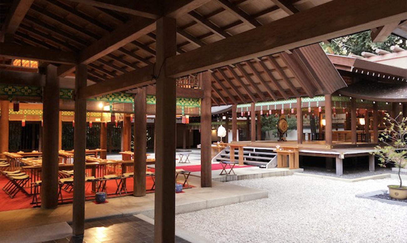 乃木神社での挙式案内 | 神社結婚式プロデュース 京鐘