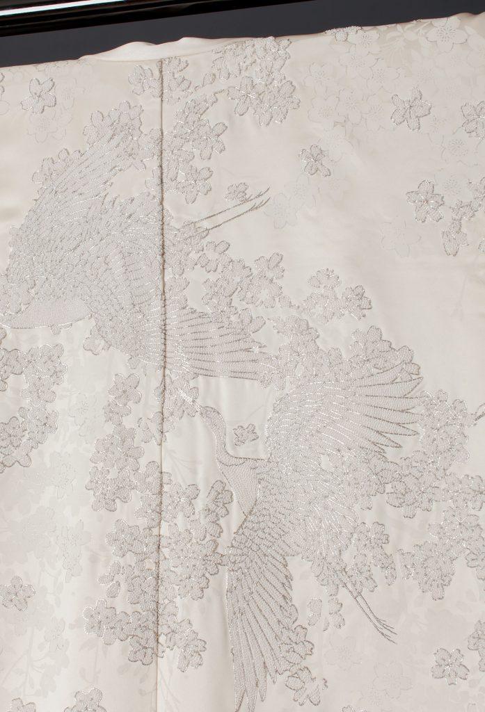 相良桜銀刺繍