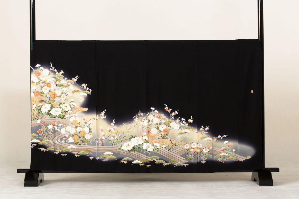 牡丹菊流水文