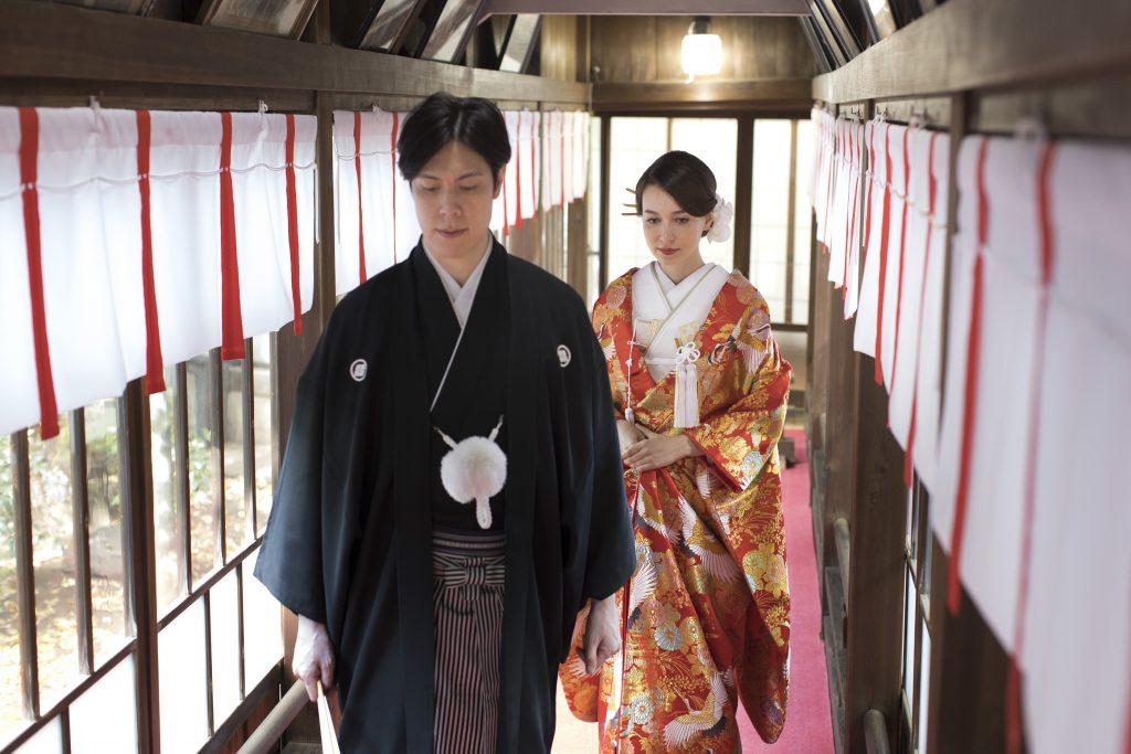 七社神社結婚式1