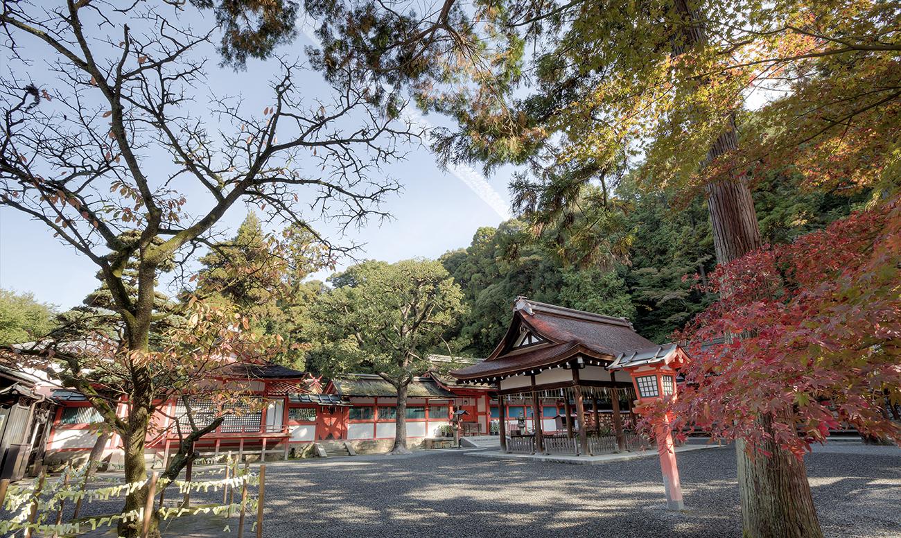吉田神社での挙式案内  神社指定プロデュース 京鐘
