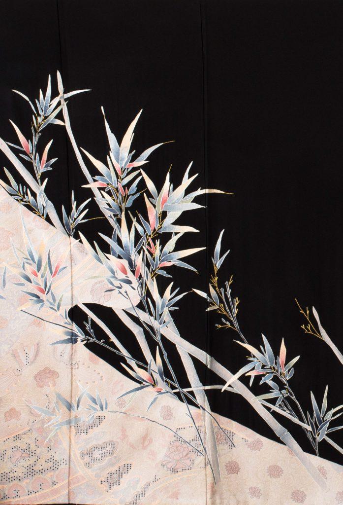 笹竹冬景色