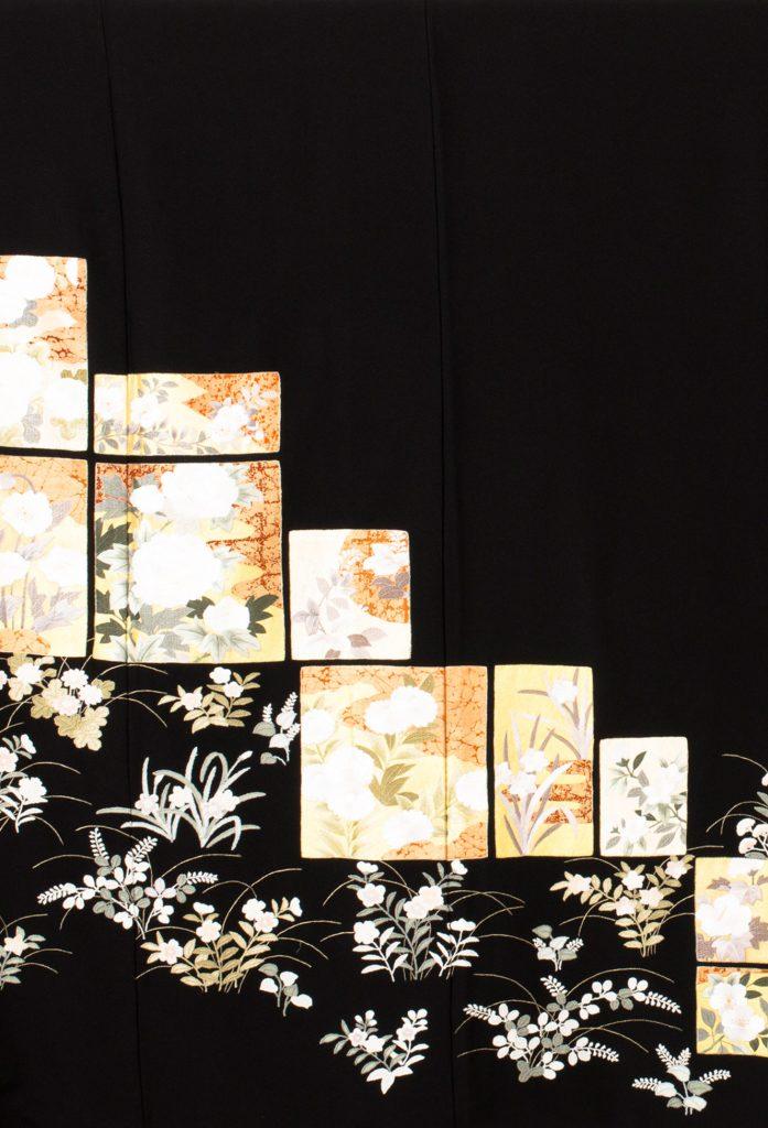 色紙四季の花
