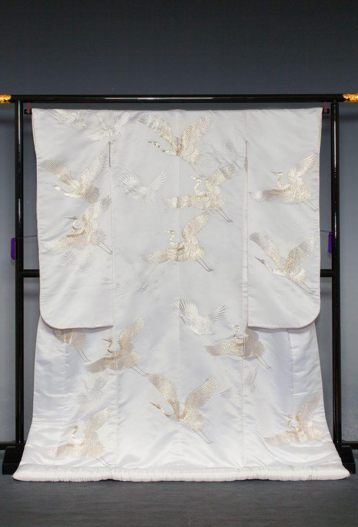 白銀縫取鶴