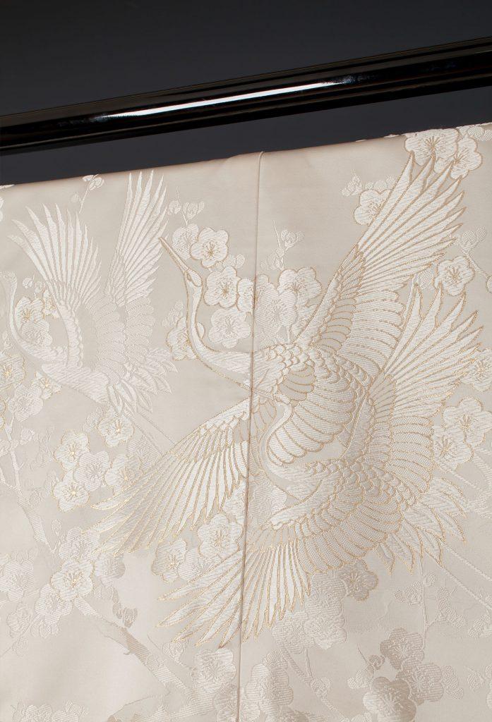 金縫鳥牡丹鶴