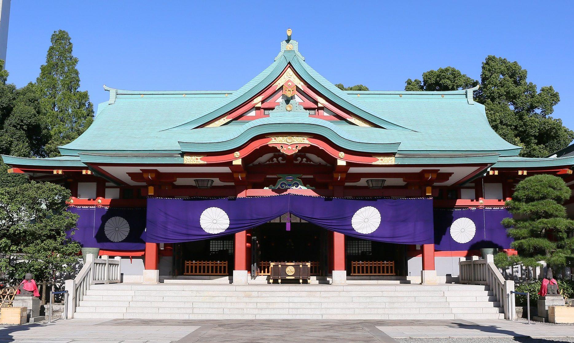 日枝神社での挙式案内
