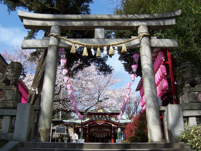 居木神社【東京】
